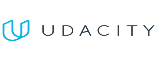 Udacity Transparent Logo. Udacity is one of the learning platforms that provides online Tracks in NTL|Next Technology Leaders.