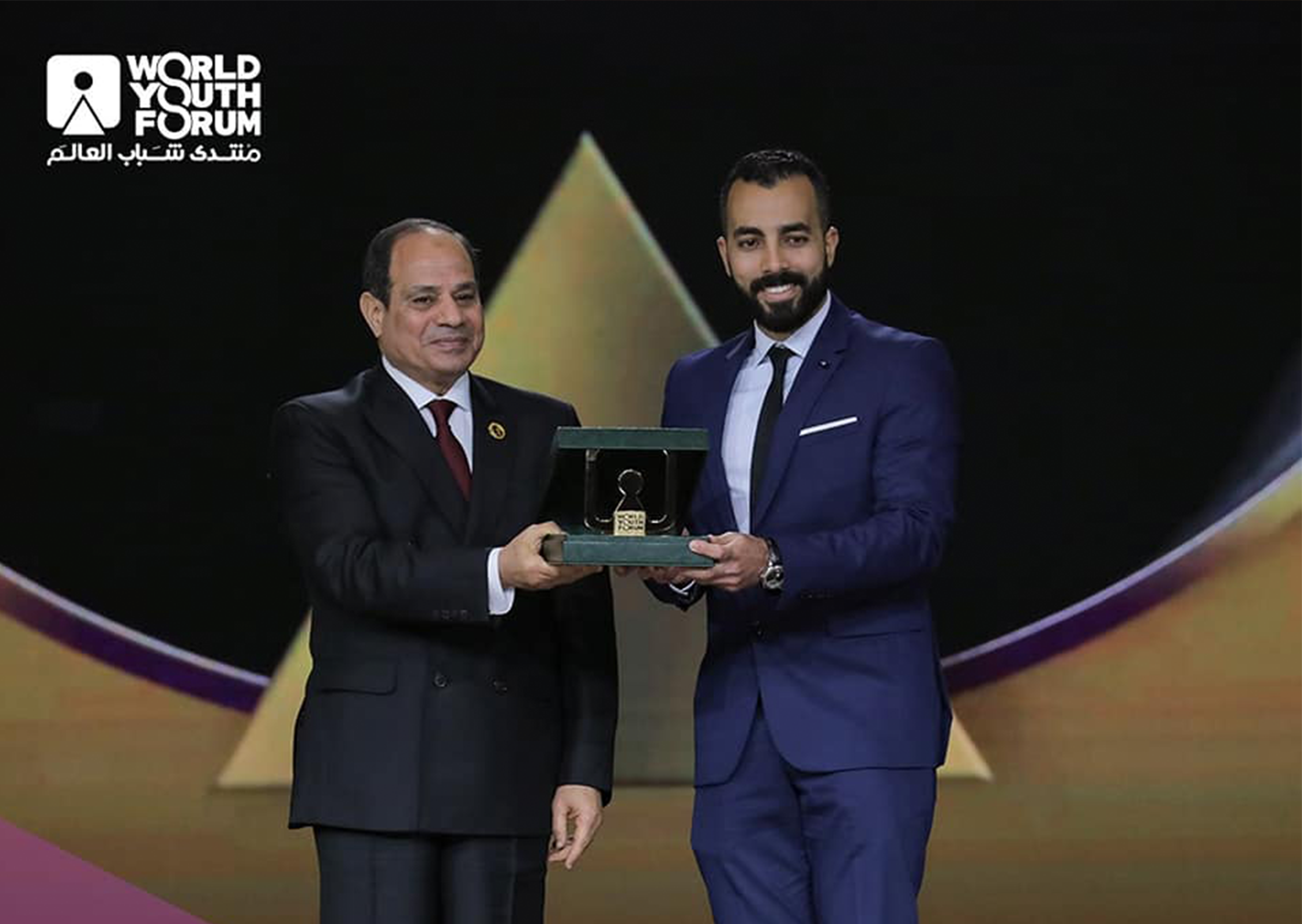 African App Launchpad |AAL Cup winner with Egyptian President in World Youth Forum 2019.