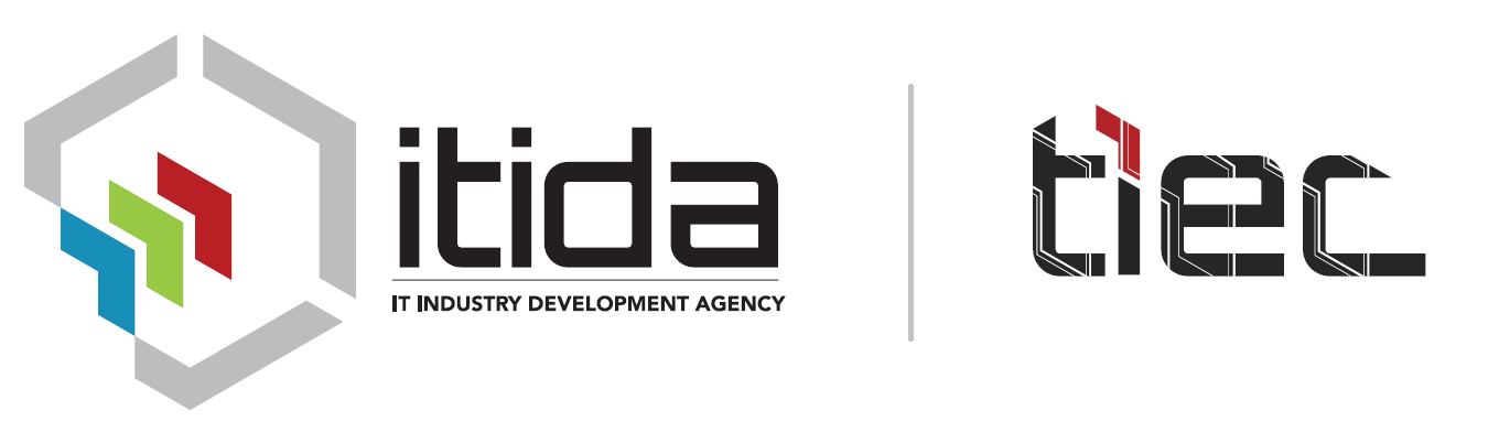 ITIDA Logo. TIEC, managing the AAL Cup, is part of Information Technology Industry Development Agency.